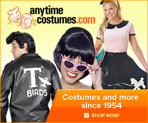 Anytime Costumes, Great Halloween Costumes Since 1954
