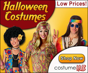 Halowen Costumes at Low Prices!
